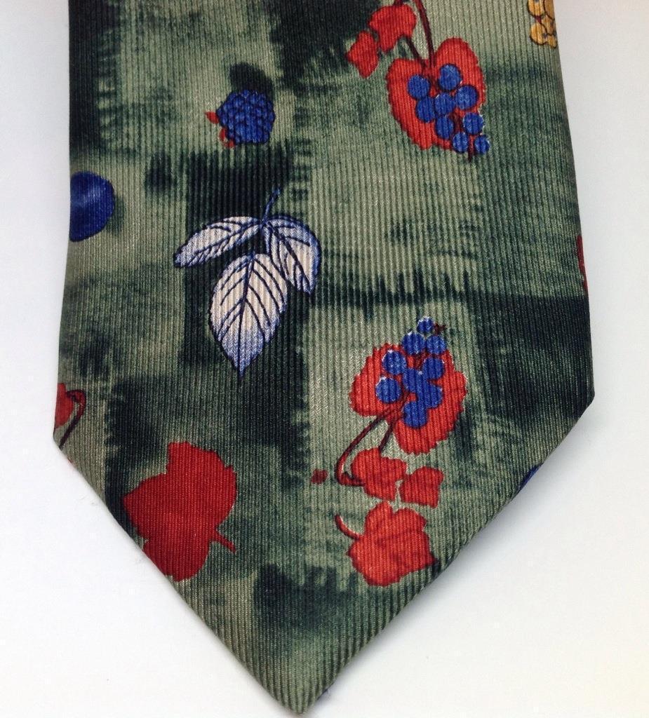 Nicola Ferri 100% Seide Fall Folie Repeat Repeat Repeat Muster auf Grün Krawatte A+ | Speichern  8bfa15