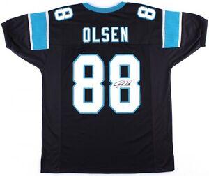 5f0916ca Image is loading Greg-Olsen-Signed-Carolina-Panthers-Jersey-JSA-3xPro-