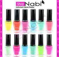 36pcs Pastel Collection Nabi Square Glass Nail Polish
