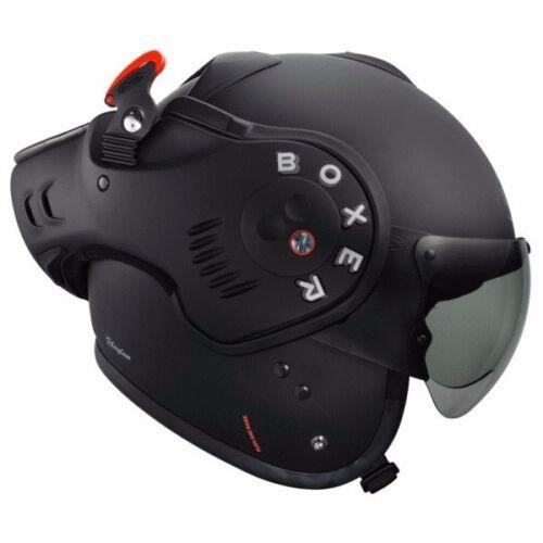 Fast/&Free Shipping!! Many sizes Roof Boxer V8 Matt Flat Black Helmet