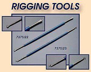 Rigging Outils x 2 pour en bois Modèle Construction navale Stick String Modèles