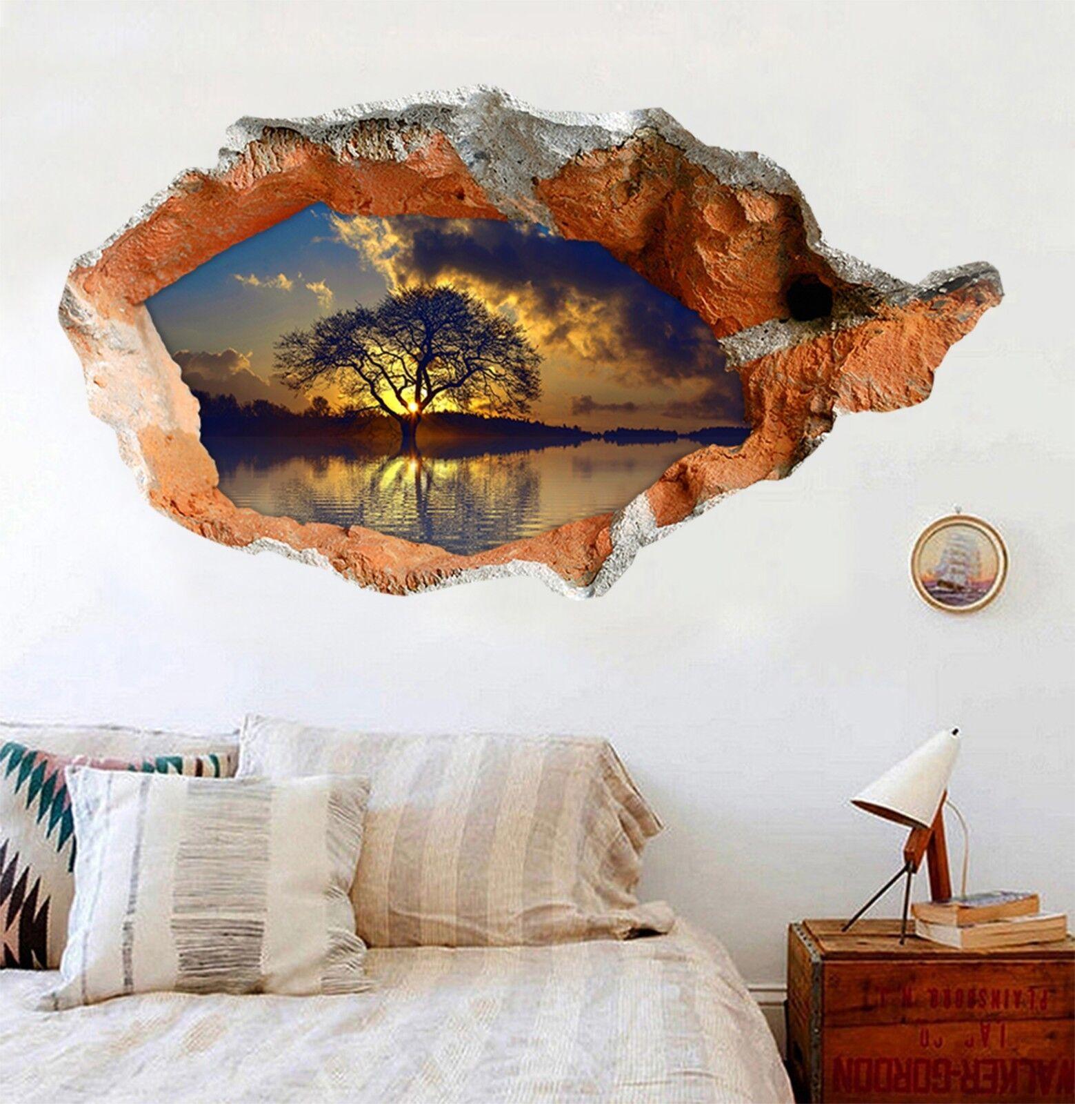 3D See-Baum 323 Mauer Murals Mauer Aufklebe Decal Durchbruch AJ WALLPAPER DE