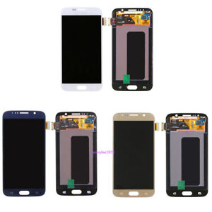 Para-Samsung-Galaxy-S6-G920F-Display-Pantalla-LCD-tactil-ecran-Touchscreen-cover