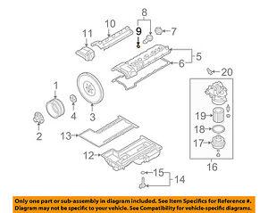 bmw oem 06 10 m5 5 0l v10 engine filler tube o ring 11127836488 ebay rh ebay com
