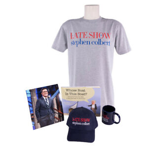 Stephen-Colbert-Signed-034-Who-039-s-Boat-is-This-Boat-034-Book-Photo-LSSC-Merchandise