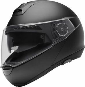 Detalles de Schuberth C4 Negro Mate Casco Moto Pequeño (T16)