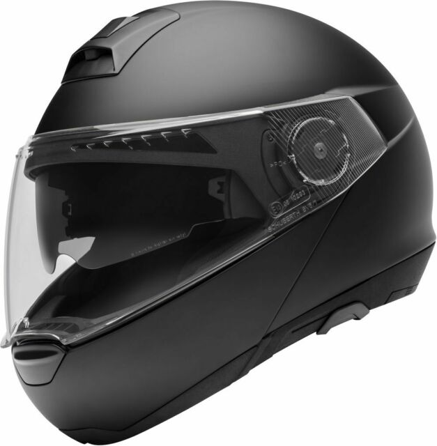SCHUBERTH C4 MATT BLACK MOTORCYCLE HELMET- LARGE