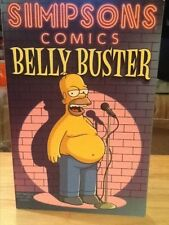 Groening 2004 Simpsons Comics BELLY BUSTER Trade Paper Back FIRST EDITION