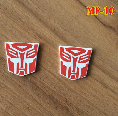 METAL AUTOBOT Logo STICKERS FOR MPP10 Optimus Prime