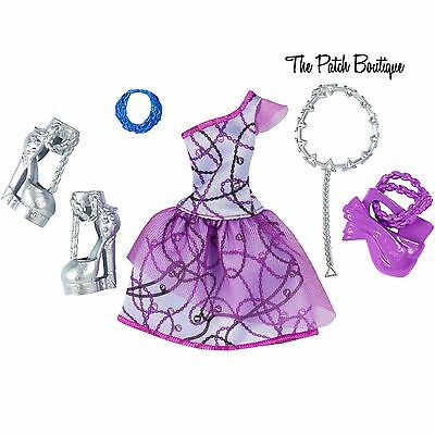 MONSTER HIGH SPECTRA COMPLETE LOOK GIRLY GHOUL GHOST DOLL FASHION PACK OUTFIT
