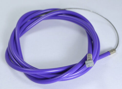 "BICYCLE BIKE 1 Brake Cable 68/"" 1 Double Sheath Housing 60/"" PURPLE"