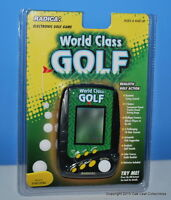 1998 Radica Pro Golf Handheld Video Game In Package World Class