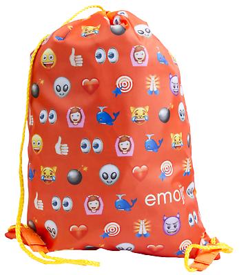 Ragazzi Ragazze Emoji Nuoto Pompa Borsa Bambini Scuola Sport Pe Coulisse Borsa Pranzo-mostra Il Titolo Originale Grande Liquidazione