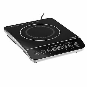 Electric Hot Plate Single Portable Ceramic Cooktop ...