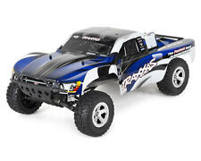 TRA58024-BLUE Traxxas Slash 1/10 RTR Electric 2WD Short Course Truck (Blue)