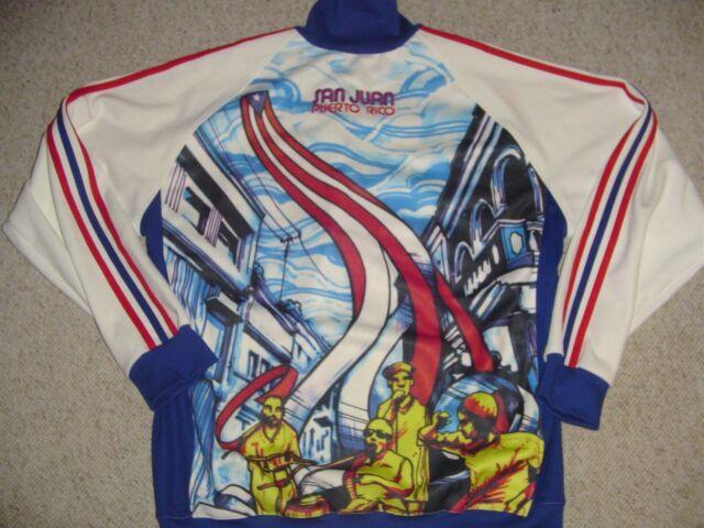 Adidas ORIGINALS San Juan Puerto Rico Track Jacket XL RARE! New With Tags