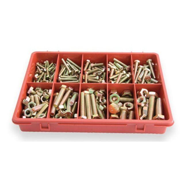 Jamec Pem 102467 - Metric Hi TensileBolt & Nuts Assortment Grab Kit - 290 Pce