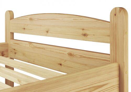 Bett Massivholz extra stabil Jugendbett 100x200 ohne Lattenrost 60.32-10 oR