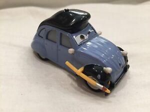 Disney-Pixar-Cars-HENRI-MOTISSE-artista-Diecast-1-55-MATTEL-paquete-TOKYO-DRIFT-X