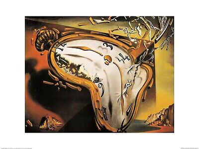 Salvador Dali Les Montres Molles Poster Kunstdruck Bild 24x30cm