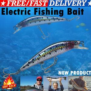 Electric Live baits,Swimming Robotic Segment Fishing Lure-Animated Swimbait US