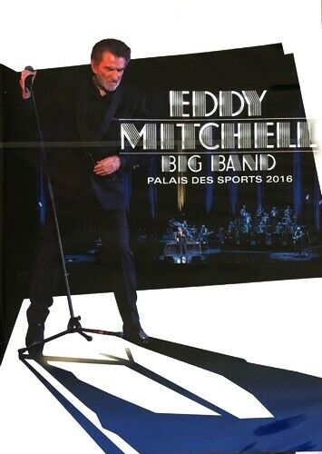 Eddy Mitchell - Big Band - Palais des Sports 2016 - DVD Neuf sous Blister