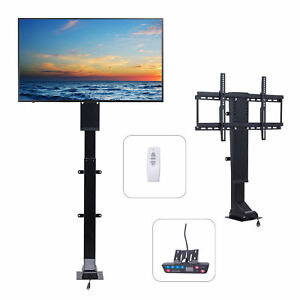 3270 TV Wall Mount Double ArmMotorized TV Lift Stand w Remote