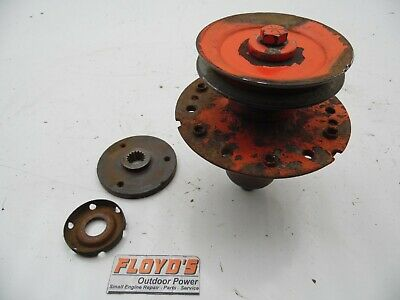 """Simplicity Sun Runner 42/"""" Deck Spindle Arbor /& Pulley Assembly 168271ASM"""
