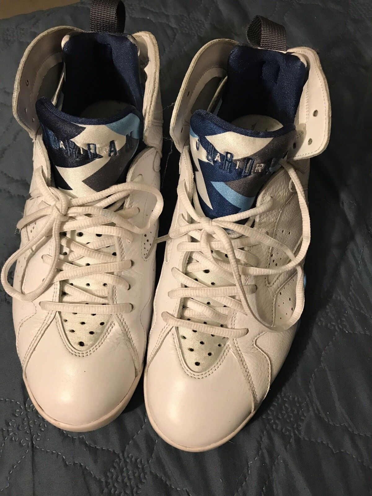 Air Jordan 7 retro French Blau 07