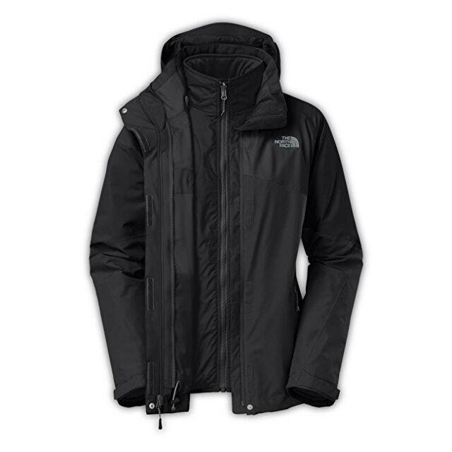 9726cdd1e The North Face Inc Ca22ddd Cinnabar Triclimate Jacket Womens (s Medium TNF  Black/tnf Black