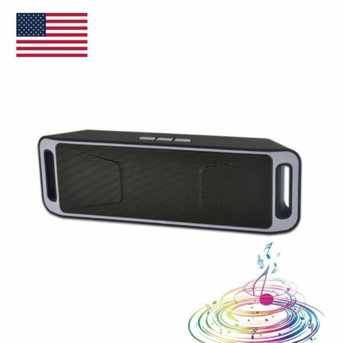 Mini Bluetooth Speaker Wireless Rechargeable Indoor outdoor Portable Speaker NEW