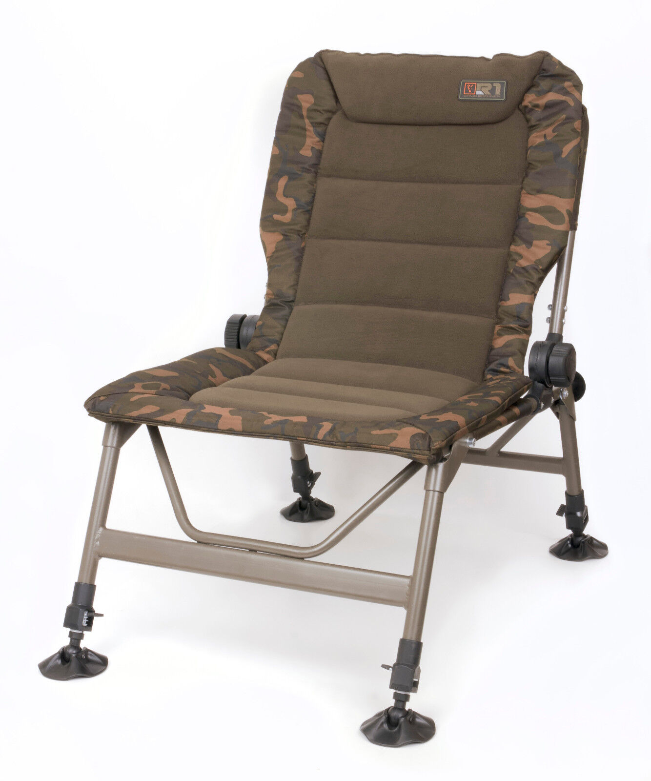 Fox  R1 Camo Chair CBC060 Karpfenstuhl Carpchair Angelstuhl Stuhl Anglerstuhl  outlet store