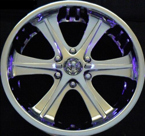 CLOSEOUT SALE 4 pack BlingX BlinX purple LED wheel lights lighting NEW