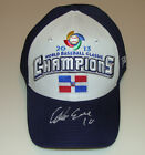 Edwin Encarnacion Signed Dominican Republic 2013 WBC Champions Hat Cap New Era