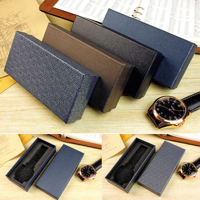 Long Style Present Case Gift Boxes For Watch Jewelry Bracelet Storage Box P2QE
