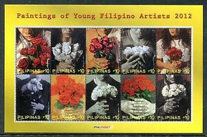 Philippines-3458-MNH-Paintings-of-Young-Filipino-Artists