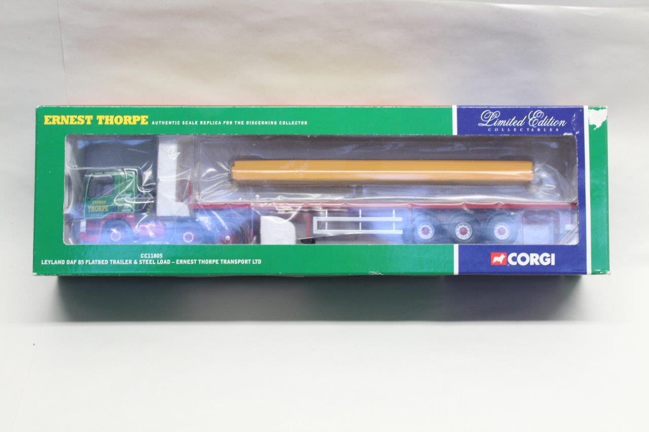 CORGI 1 50 CC11805 Leyland DAF 85 FLAT BED CAMION Inscatolato Nuovo in Scatola E20
