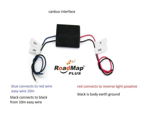 Vauxhall MOKKA Trasera Monitor de cámara de marcha atrás Kit de 5 pulgadas