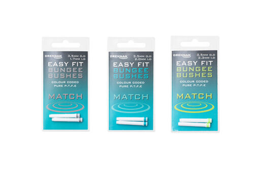 All Sizes Available Brand New Drennan Easy Fit Bushes