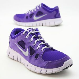 1230cec89f47 Nike Free Run 5.0 Youth Girls 5Y Kids Running Sneakers Gym Ultra ...