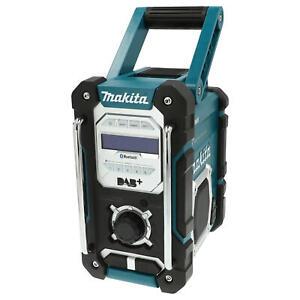 Makita Akku Baustellenradio DMR 112 UKW-MW-DAB-DAB+ Bluetooth 7,2–18 V Soundbox
