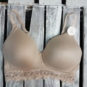 2f3725d5922 EX M&S Sumptuously Soft Padded Full Cup T-Shirt Bra AA-E IN ALMOND ...