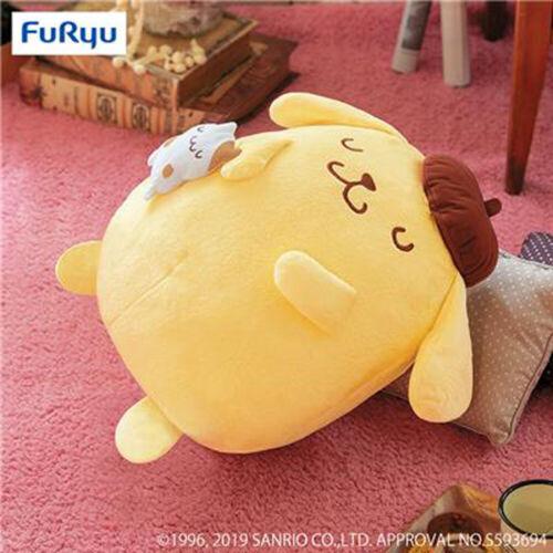 FuRyu Sanrio Pom Pom Purin /& Muffin Goodnight Sleeping 35cm DX Plush AMU-PRZ9776