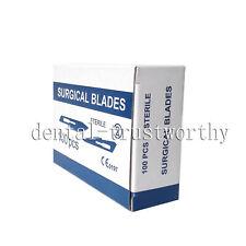 100pcs Medical Dental Surgical Blades Knife Scalpel Blade