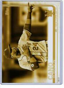 Robinson-Cano-2019-Topps-Update-Variations-5x7-Gold-US107-10-Mets