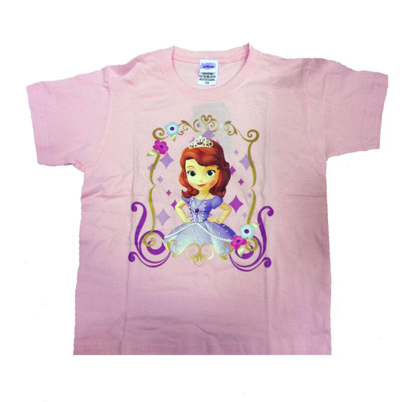 Principessa Sofia T-shirt Pink Printed Size 7/8 Years Baby