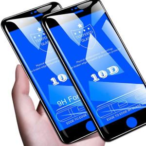 2x 10D Hartglas für iPhone 7 iPhone 8 Displayschutzfolie Schutzpanzer Glasfolie