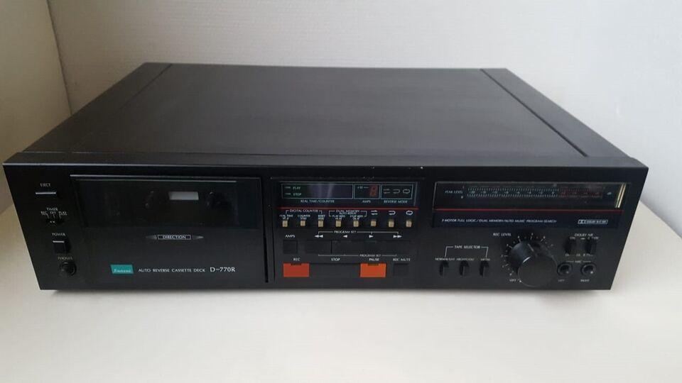 Båndoptager, Andet, Sansui D-770R