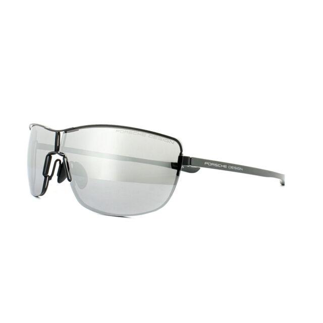 a02031fd45420 Porsche Design Aviator Unisex Sunglasses Grey Palladium Silver ...