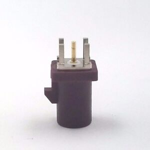 10pcs Auto Fakra Straight Plug PCB Mount Code:D Bordeaux GSM Cellular Phone